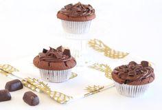 Chocolade muffins met Chokotoff