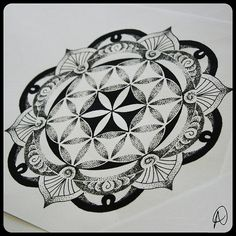flower of life mandala sacred geometry tattoo ---> Great tools for light-workers.. Flower of Life T-Shirts, V-necks, Sweaters, Hoodies & More ONLY 13$ EACH! LIMITED TIME CLICK THE PIC