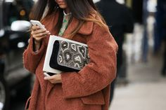 The 60 Best Bags Of NYFW #refinery29  http://www.refinery29.com/fashion-week-bags#slide35  A bit of embellishment never hurt anybody.