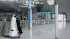 LG Robots Will Keep Airports Clean And Make Sure You Don't Miss Your Flight - Geek