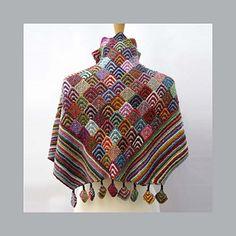 lubushka shawl from ravelry
