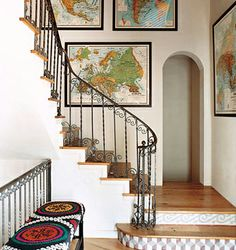 my absolute favorite staircase ever...from the Alter Eco house designed by Adrian Grenier