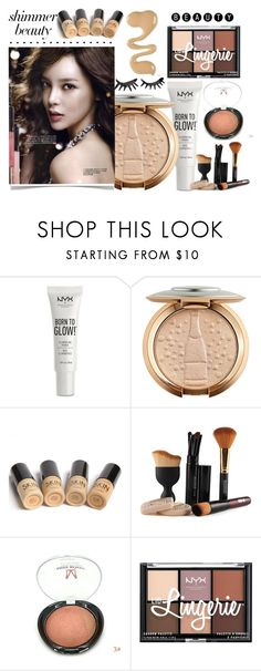 """""""Untitled #988"""" by helenaki65 ❤ liked on Polyvore featuring beauty, NYX and Bobbi Brown Cosmetics"""