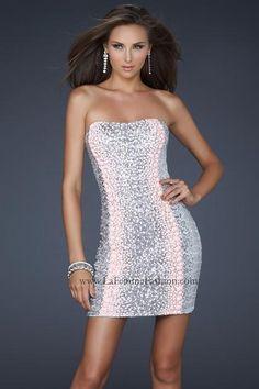 La Femme Dress 17800 at Peaches Boutique