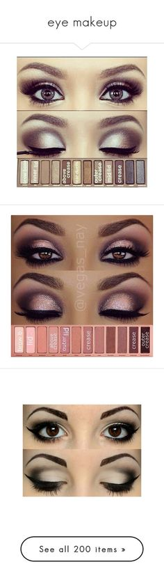 """eye makeup"" by mihai-theodora ❤ liked on Polyvore featuring beauty products, makeup, eye makeup, eyeshadow, eyes, beauty, palette eyeshadow, maquiagem, make and eyeliner"