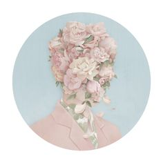 Hsiao-Ron Cheng                        painting creative flowers art artist portrait