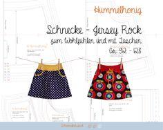 Jersey Rock Schnecke - Ebook mit Schnittmuster