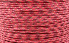 E.L. Wood Type III 550 Paracord - Volcanic