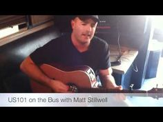Matt Stillwell  Video.... I'm a sinner... acoustic on the bus before interview at radio station... WTG Matt We Love you here at HOME keep up the great work
