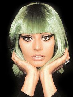 Sofia Loren doin' wig inspiration!
