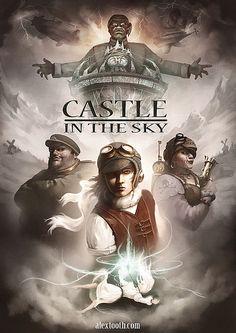 Hayao Miyazaki's Castle In The Sky