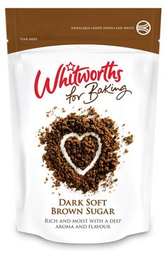 Whitworths for Baking packaging designed by Leahy Brand Design.