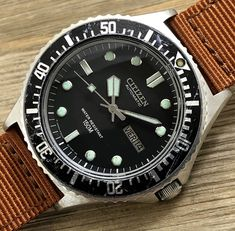 1980 Citizen 51-2273 150m Automatic Diver
