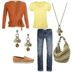 Casual outfit by Sacagawea