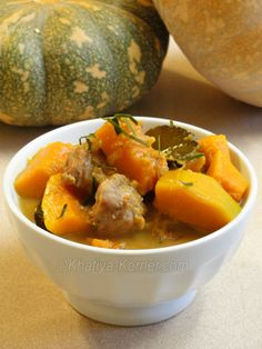 Cambodian Hot Pork Pumpkin Curry I personally use chicken
