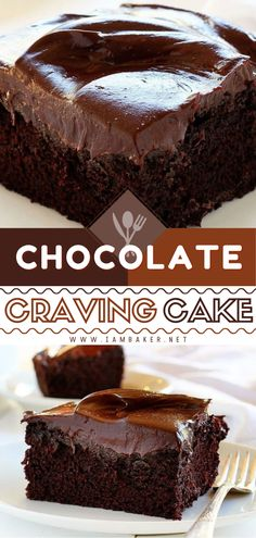 Want the best chocolate dessert ever? This Chocolate Craving Cake recipe fits the bill! This homemade cake recipe is moist and fudgy. It may be small in size, but not in flavor. It's the best chocolate cake recipe! Save this decadent chocolate cake recipe!