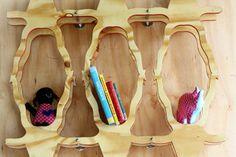 Bokkie Book wall unit by ilovebokkie