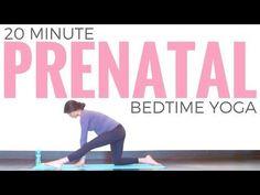 Prenatal Bedtime Yoga Routine - YouTube