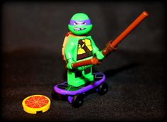 Donatello (Donny) TMNT. Custom Minifigure. Lego Compatible. by AwesomeBrix on Etsy