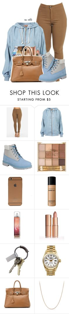 """"" by idontfxckwitchu ❤ liked on Polyvore featuring Timberland, Bare Escentuals, CB2, Rolex, Hermès and David Yurman"