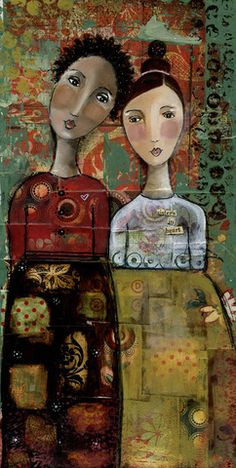 Sisters at Heart - Kelly Rae Roberts