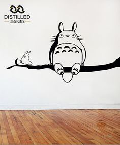 Totoro Wall Art / Vinyl / Graphic - 840 x 450mm - Multiple Colours Available!!