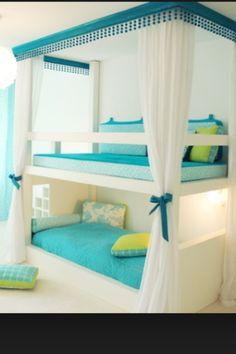 Hemel bed-bank combinatie.