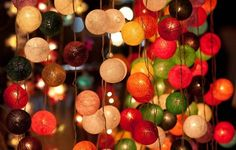 love these string lights!