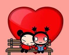 Pucca corazones #amor #love #i_love_you #te_quiero #te_amo