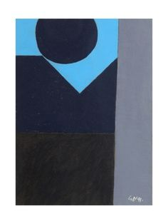 Upwards to Blue, 1999 Giclee Print by George Dannatt at Art.com