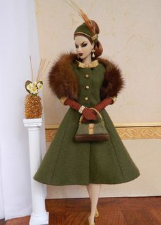 OOAK Fashion for Fashion Royalty & Silkstone Barbie Dolls on eBay by Joby Originals