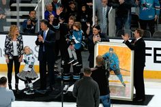 Another pre-game ceremony...Congrats again Jumbo on 1000 apples!