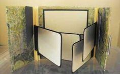 How To Make a Gatefold Mini Scrapbook tutorial album Scrapbook Journal, Mini Scrapbook Albums, Scrapbook Paper Crafts, Diy Scrapbook, Scrapbooking Ideas, Paper Crafting, Mini Albums Photo, Mini Photo, Memory Album