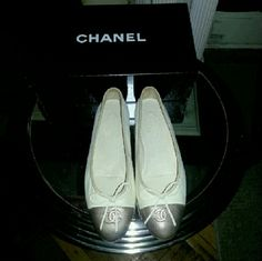 Spotted while shopping on Poshmark: CHANEL Flats! #poshmark #fashion #shopping #style #CHANEL #Shoes