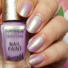 Boy Bye Pink Polish, Nail Polish, Boy Bye, Barry M, Beauty Products, Purple, Nails, Collection, Schmuck