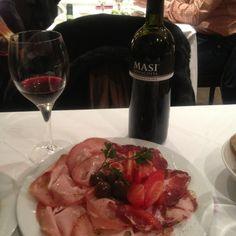 Mortadela con trufa negra, speck. La sinfonía italiana. Madrid