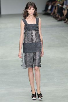Calvin Klein New York Fashion, Peplum Dress, Calvin Klein, Runway, Spring 2014, Formal Dresses, La Mode, Cat Walk, Dresses For Formal