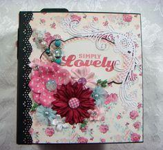 TPHH Sharon Chipboard PREMADE Keepsake Handmade Photo Scrapbook Album  ~Video #FamilyFriendAnyOccasion
