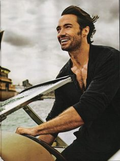9. Hugh Jackman  Born on: 12th Oct 1968Sexy because: he's such a versatile actor and 6'3″ of pure Aussie hotness! That kind of face and body don't come …