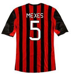 Maillot de Foot AC Milan (5 Mexes) Domicile 2013 2014 rouge noir Pas Cher http://www.korsel.net/maillot-de-foot-ac-milan-5-mexes-domicile-2013-2014-rouge-noir-pas-cher-p-2907.html