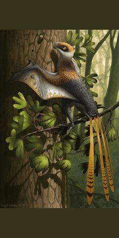 Prehistoric Wildlife, Prehistoric World, Prehistoric Creatures, Creature Concept Art, Jurassic World, Fossils, Old World, Artwork, Painting