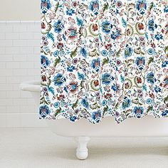 Spiced Palampore Shower Curtain at World Market