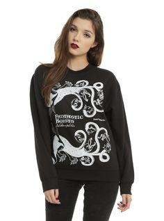 Harry Potter Fantastic Beasts And Where To Find Them Book Cover Girls Pullover Top | Hot Topic