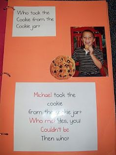 class book who took the cookie?