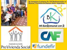 .: Los Bankomunales inician actividades en Moreno, Pr...