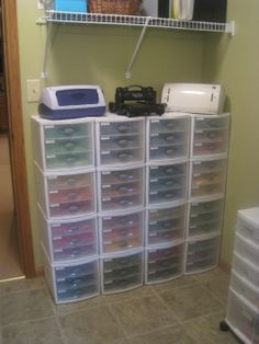Wow! get the papers organized for Scrapbooking, fabric for quilting, and all the other crafts!!