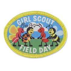 FIELD DAY SEW-ON PATCH