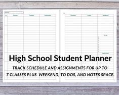 THE Jawz's KabaListics (the Original script) Student Agenda, Student Planner, High School Students, Writing Services, Essay Writing, Business Planning, Homework, Homeschool, Teen