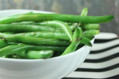 Simple Roasted Green Beans | Ultimate Paleo Guide