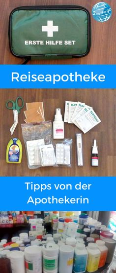 First aid kit - what do you have to do with? - A well-assembled first aid kit can be very helpful on the go. Read my tips here. Packing Tips, Travel Packing, Travel Tips, Travel Destinations, Travel Hacks, Camping Hacks, Have A Good Sleep, Equador, Destination Voyage